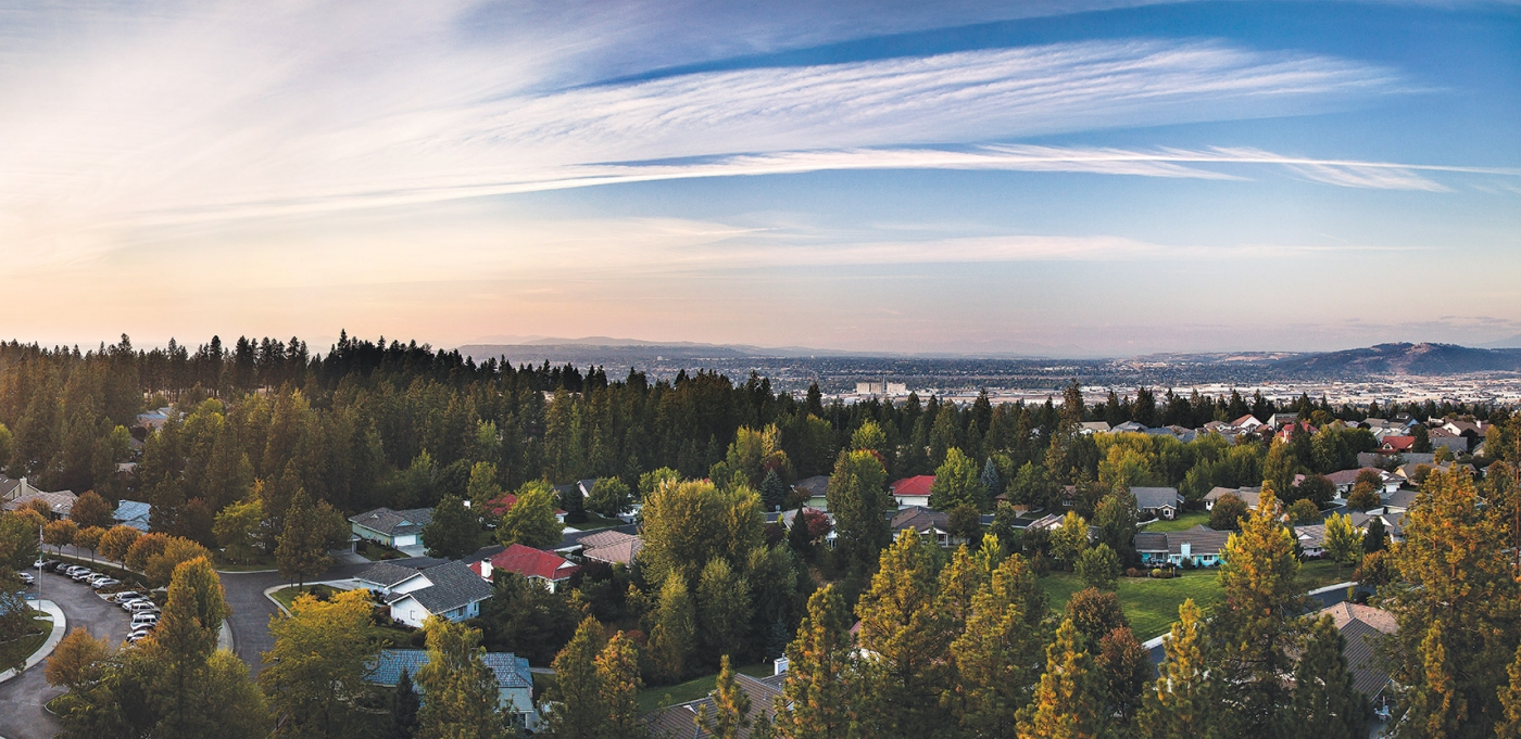 Rockwood Retirement Communities Spokane Forest Estates From Above