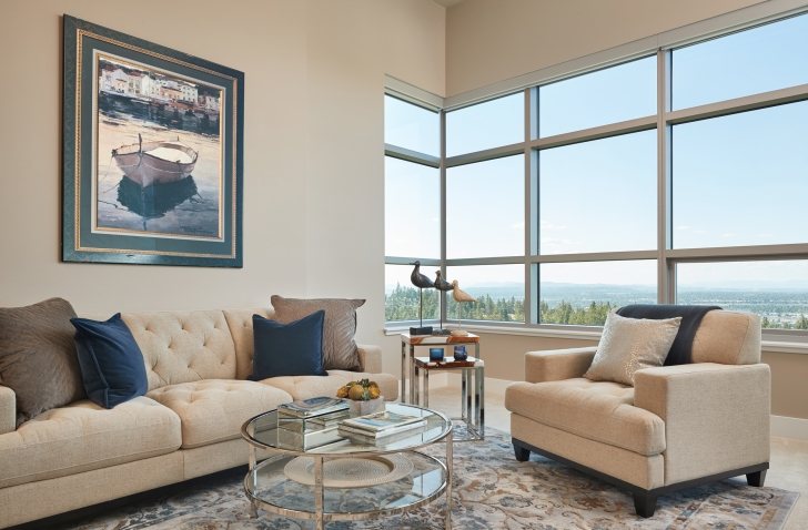 Rockwood Retirement Communities Spokane The Summit Apartment Livingroom